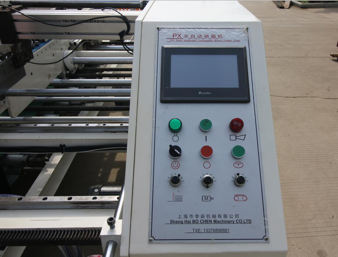 Zx-2000 Two Pieces Join Box Gluing and Making Machine