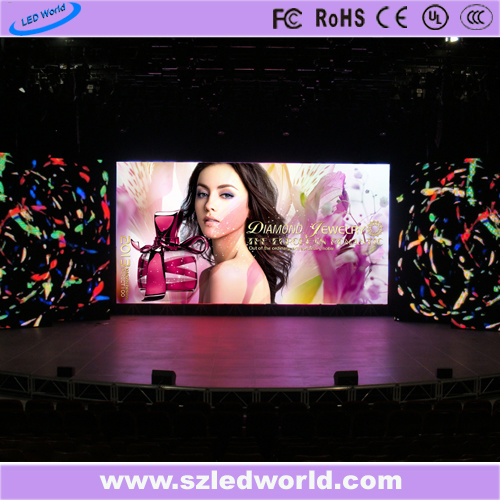 Outdoor/Indoor Full Color Rental LED Display Screen Panel Board with Energy Saving Die-Casting for Advertising (P3.91, P4.81, P5.95, P6.25, P5.68 500X1000mm)