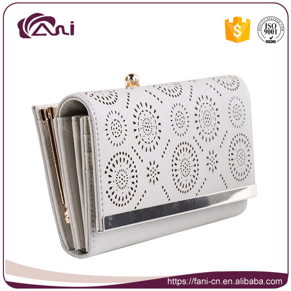 Fani Custom Fashion Wallet, Guangzhou PU Leather Wallet Women 2017