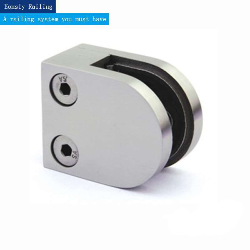 Stainless Steel Glass Clamp for Handrail Fittings