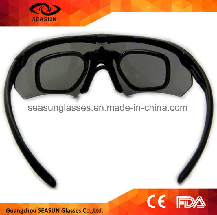 Custom Private Label Shooting Eye Glasses 2016 Military Anti-Scratches Clarity Night Vision Goggles for Man