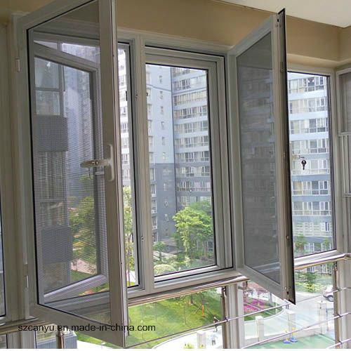 Home Anti-Theft Retractable Screen Construction Windows and Door