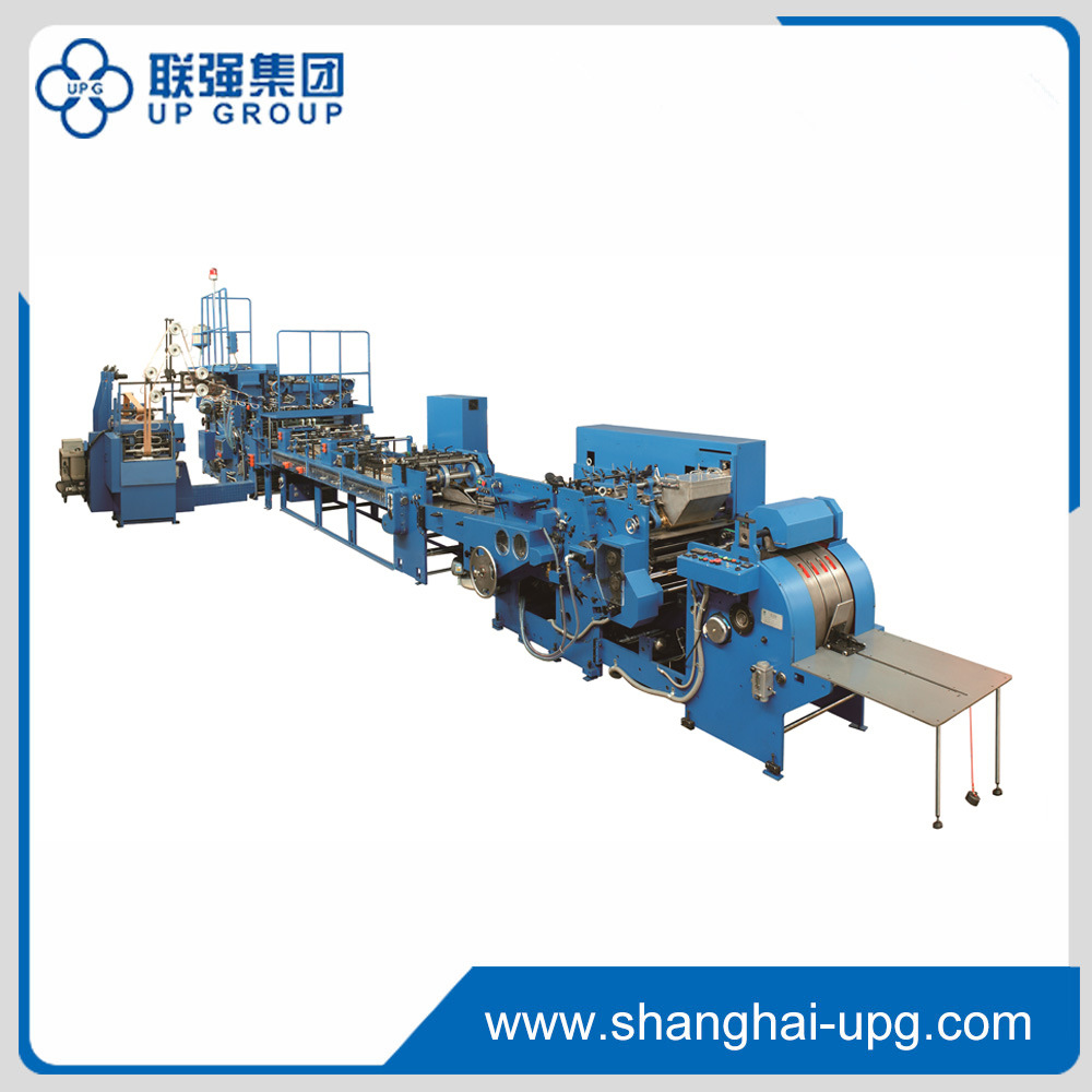 Fully Automatic Paper Bag Making Machine (LQ-22/35/45/50H)