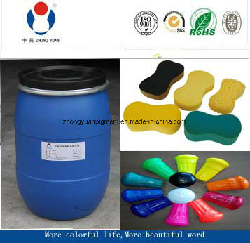 Polyether Color Paste for PU Foam Sponge Tdi Mdi Mattress