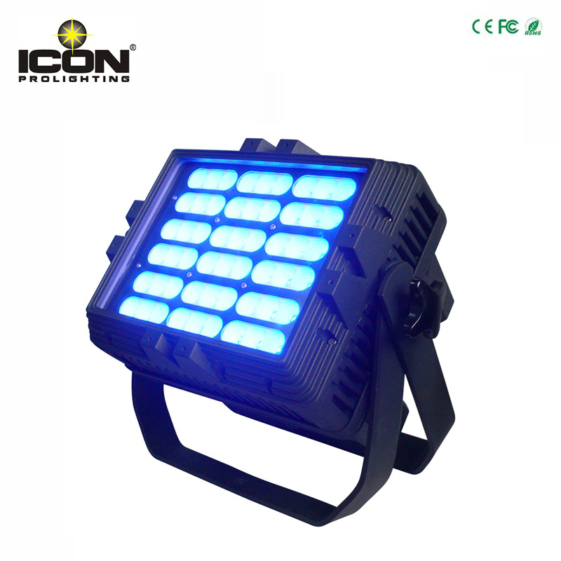 54X3w RGB 3in1 LED Waterproof PAR Can for Outdoor Lighting