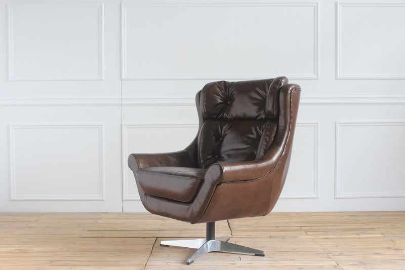 Vintage Leather Rotate Swivel Boss Manager Office Wholesale Chair