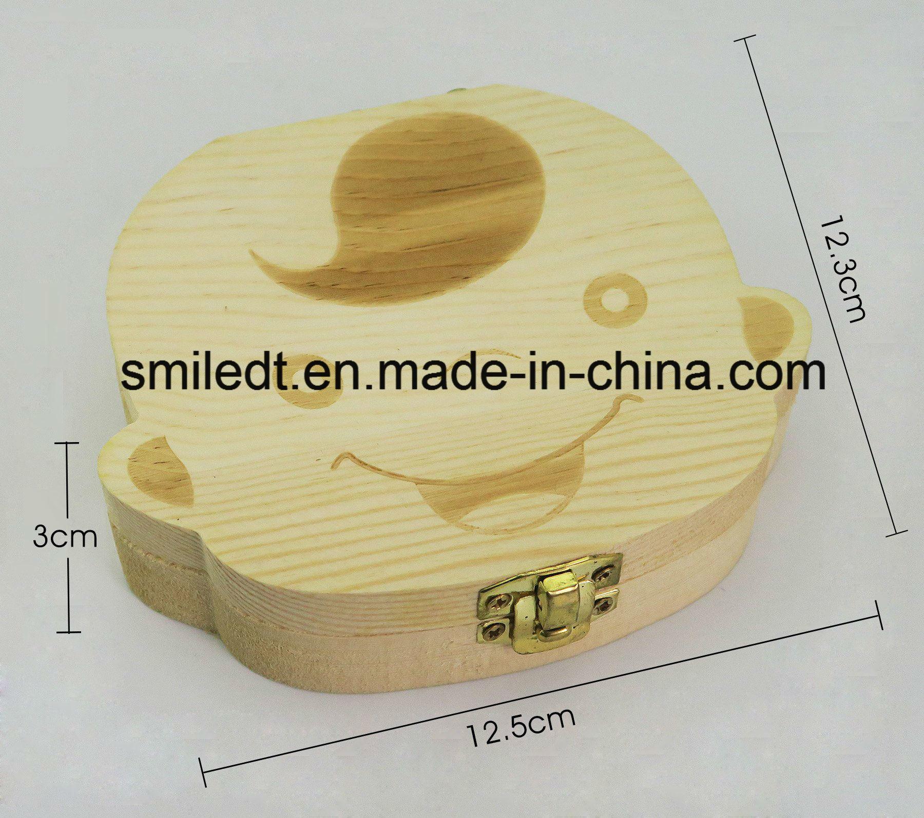 Baby Teeth Wooden Storage Box