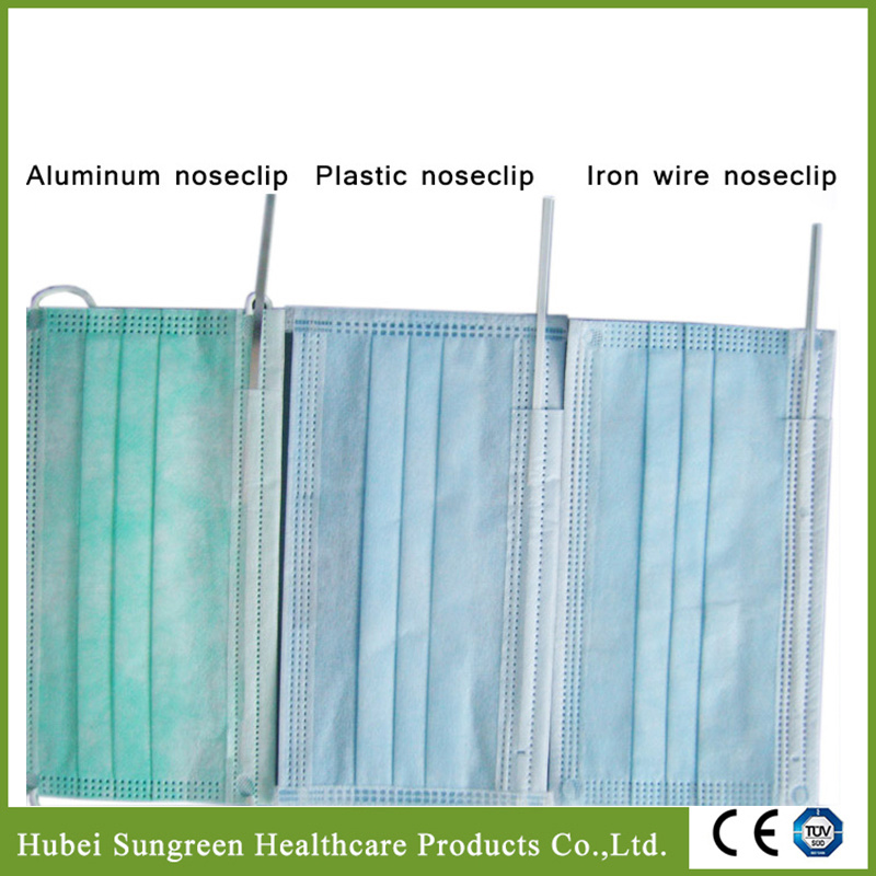 Surgical Disposable Non-Woven Face Mask with Ear Loop