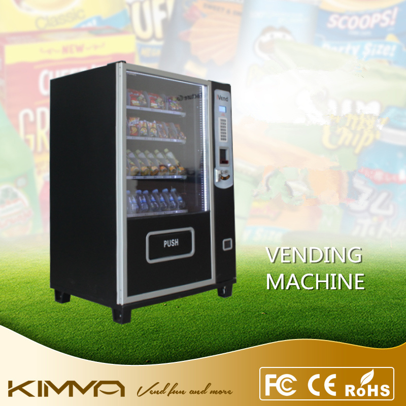 Small Vending Machine with 4 Trays 32 Selections at Max