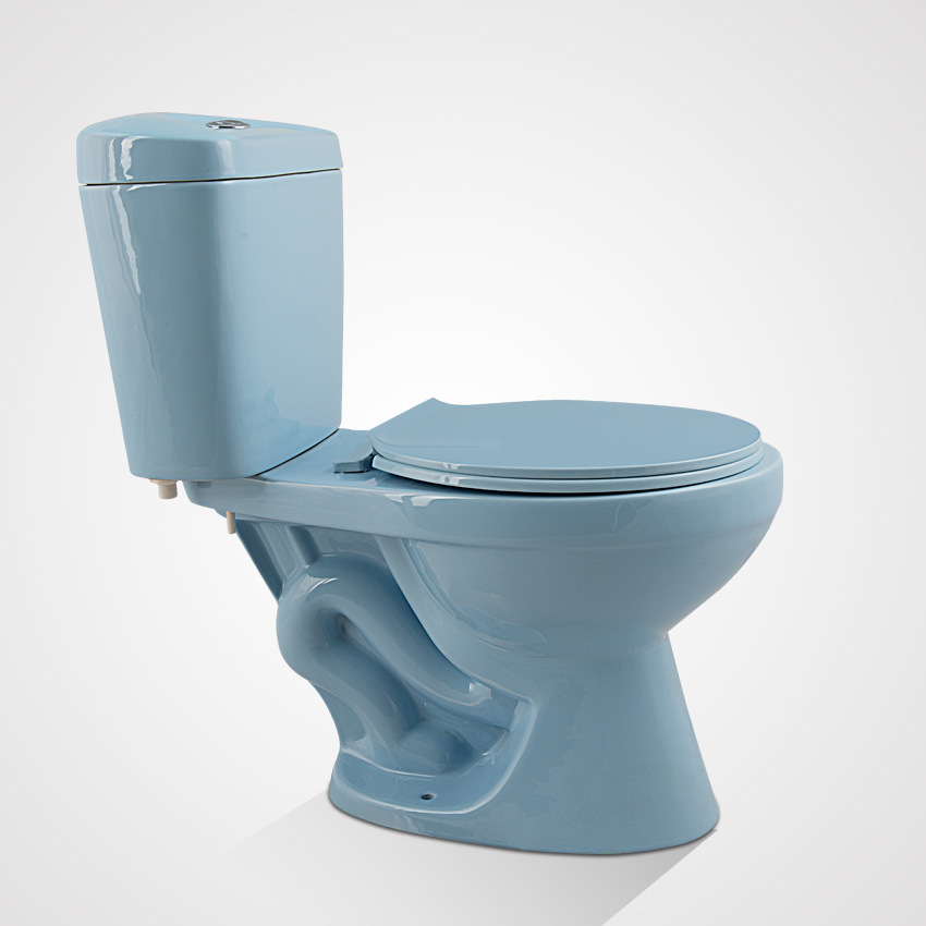 China Porcelain Cheap Price Siphonic Two Piece Toilet