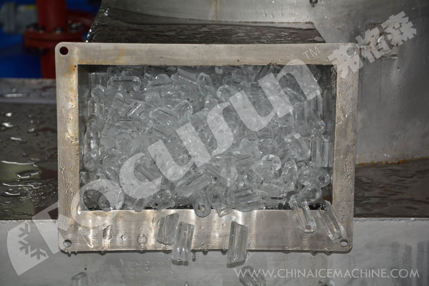 Clean and Edible Tube Ice Machine 10tons