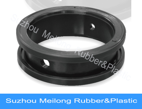 Butterfly Rubber Valve Seats Molded Rubber Sealing