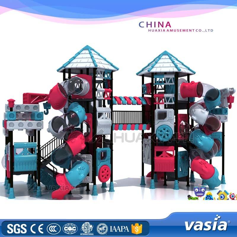 Outdoor Plastic Playground Plastic Playground Children Playground Vs2-161017A-29