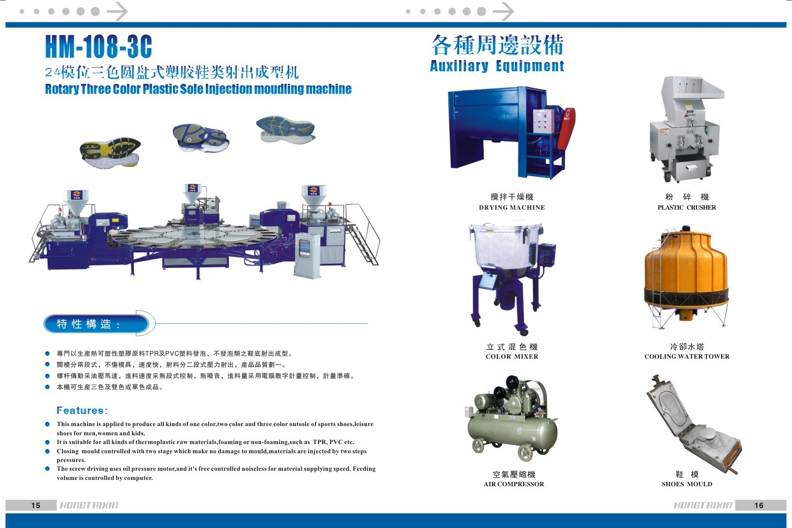 Machine for Making Sport Shoe Sole