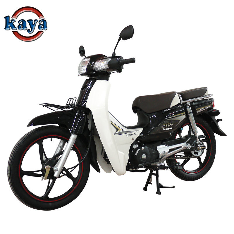 110cc Cub Motorcycle with Alloy Wheel Drum Brake for Classic Model Ky110-14c