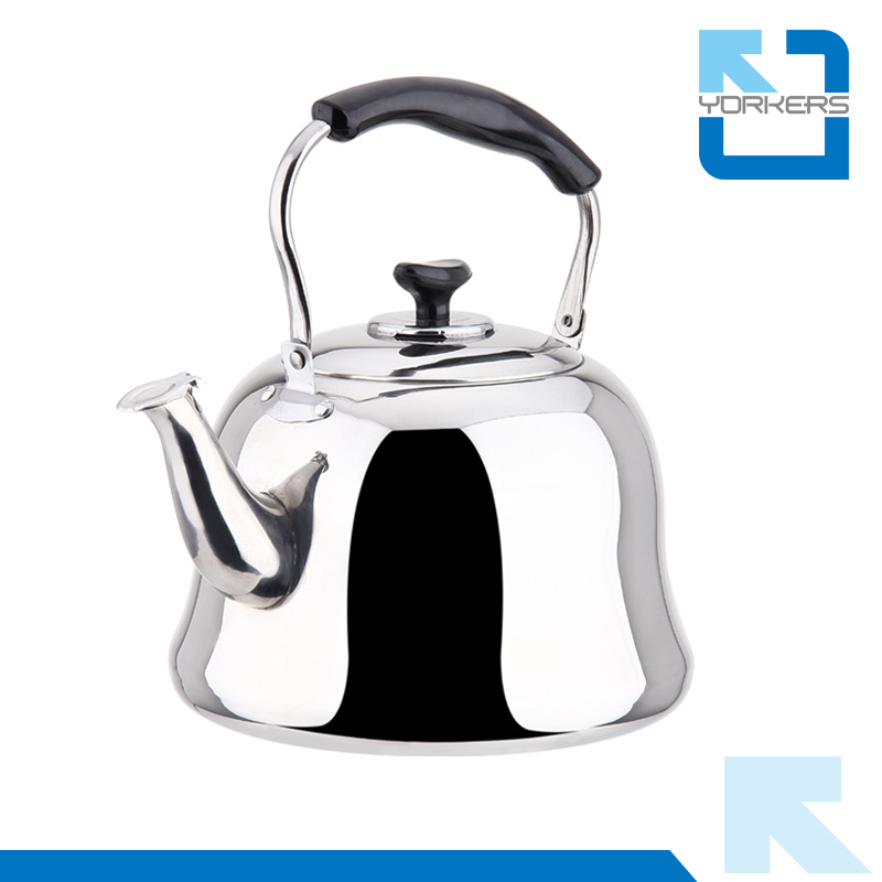 Portable 4L/5L/6L Stainless Steel Tea Pot Whistling Kettle