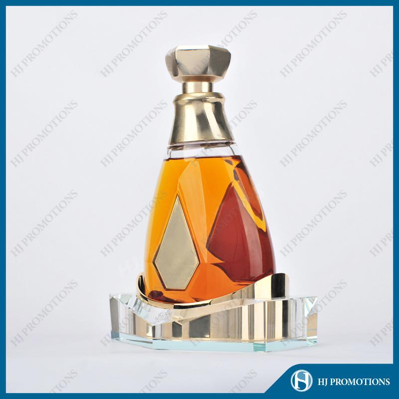 Ellipse Artificial Crystal Liquor Bottle Display (HJ-DWNL02)