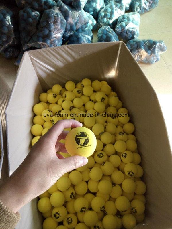 EVA NBR Rubber Foam Ball, Shooting Ball, Foam Washing Ball