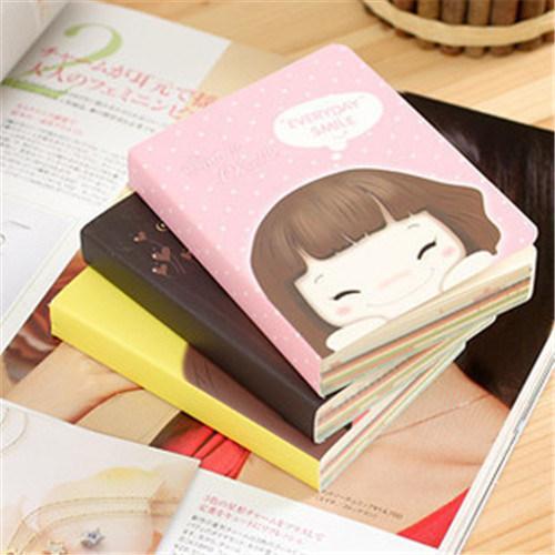 Fancy Glue Bound Cartoon Notebook Printing Service