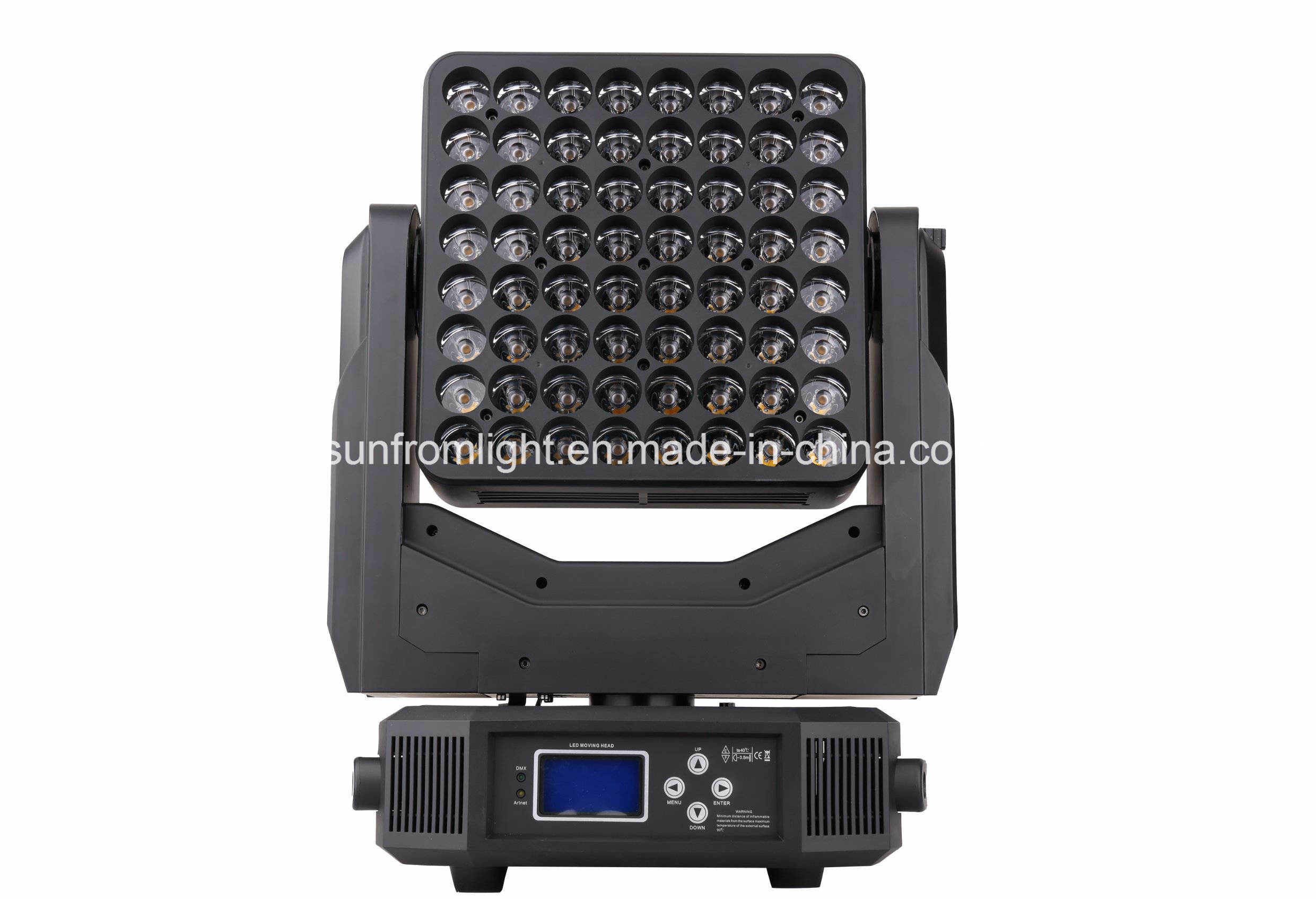 Matrix 8X8PCS LED Moving Head Beam