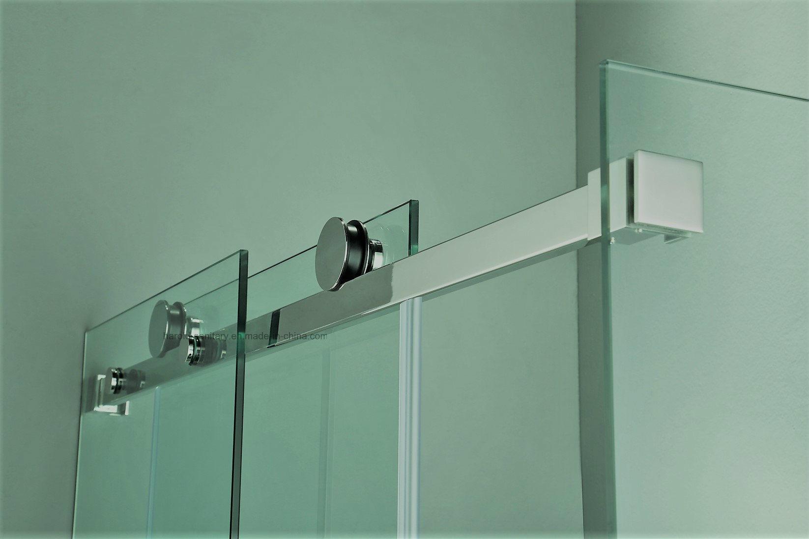 HR-P031-D Heavy-Duty Straight Sliding Shower Door