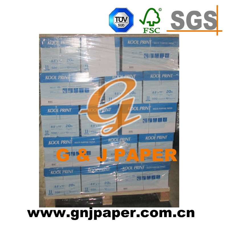 Top Quality 8.5*11inch Size Copy Paper in 500 Sheets