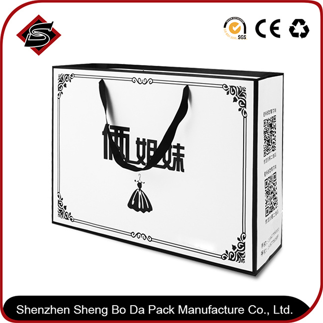 Portable Customzied Logo Paper Gift Packaging Bag