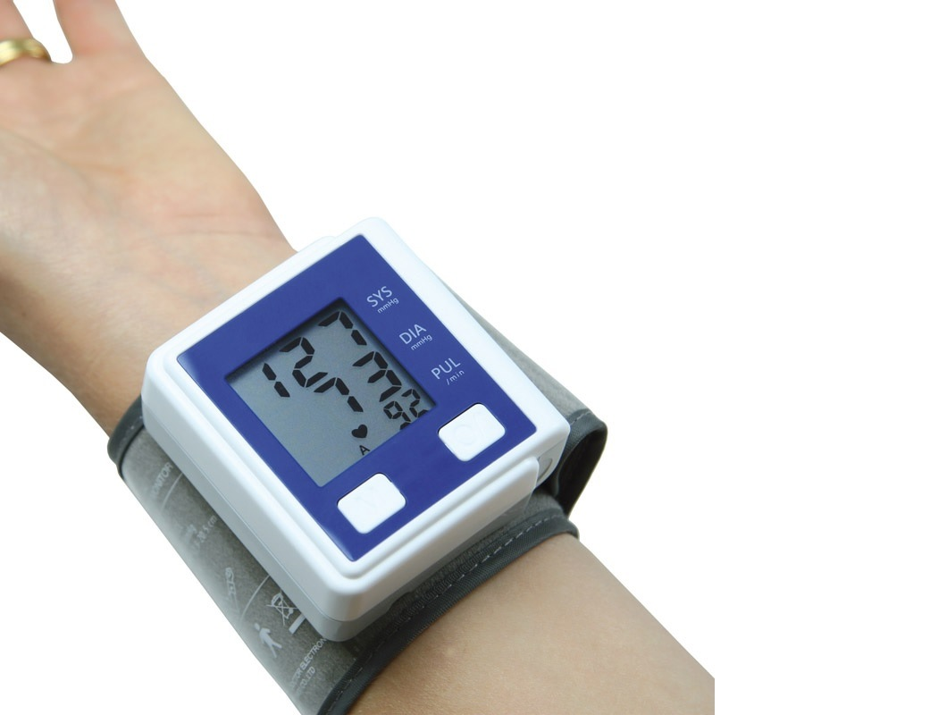 Digital Automatic Wrist Blood Pressure Monitor