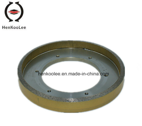 Diamond Tools for Continuous Rim Wet Grinding Wheel