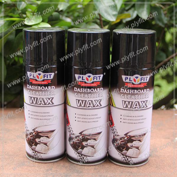 Car Care Product Dashboard Shine Polish Spray Wax