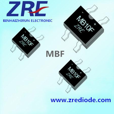 Mbf Bridge Rectifiers 0.8A 1000V MB10f MB6f