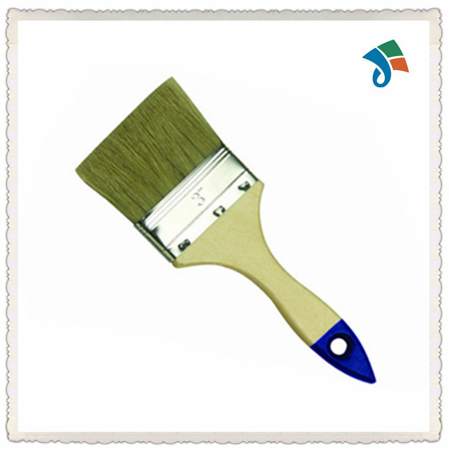 Wooden Handle Natural Bristle Paint Brush