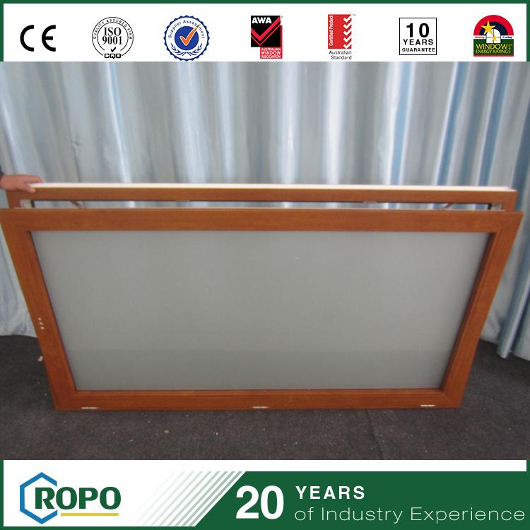 Wood-Look Colored Vinyl Tilt Window Vertical Opening