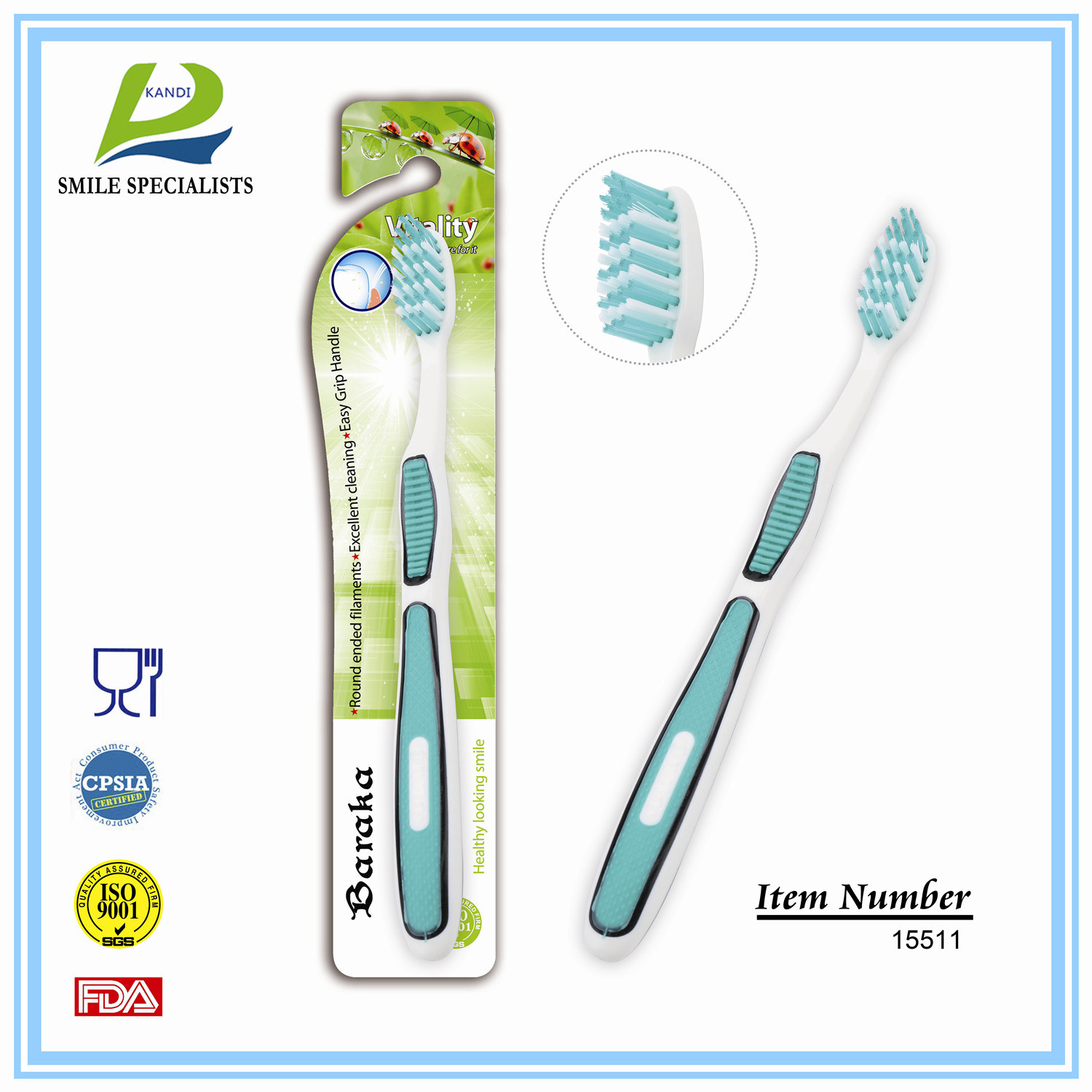 High Quality Adult Toothbrush with Great Oral Care