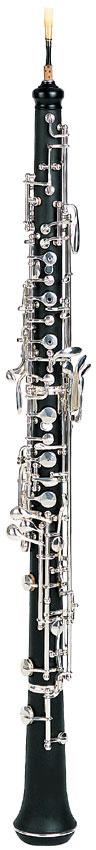 Bakelite Silver Plated Oboe (OB-681)