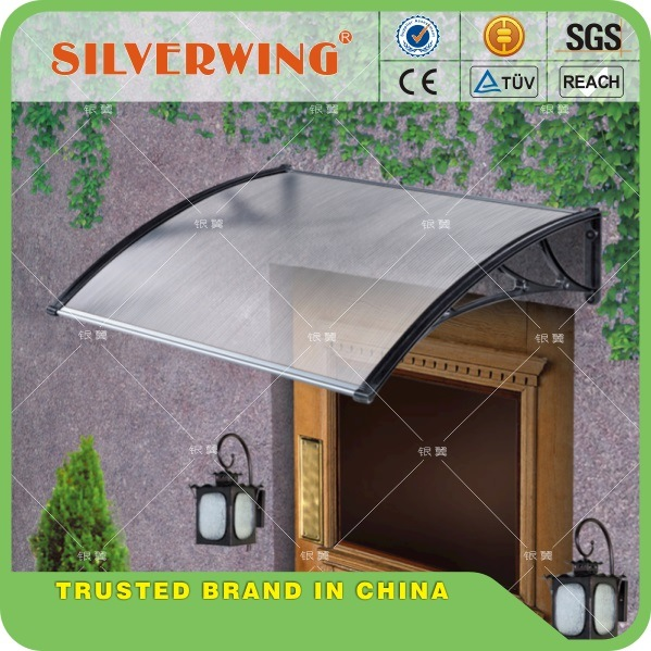 Polycarbonate Awning/ Canopy / Blind/ Shed for Windows& Doors