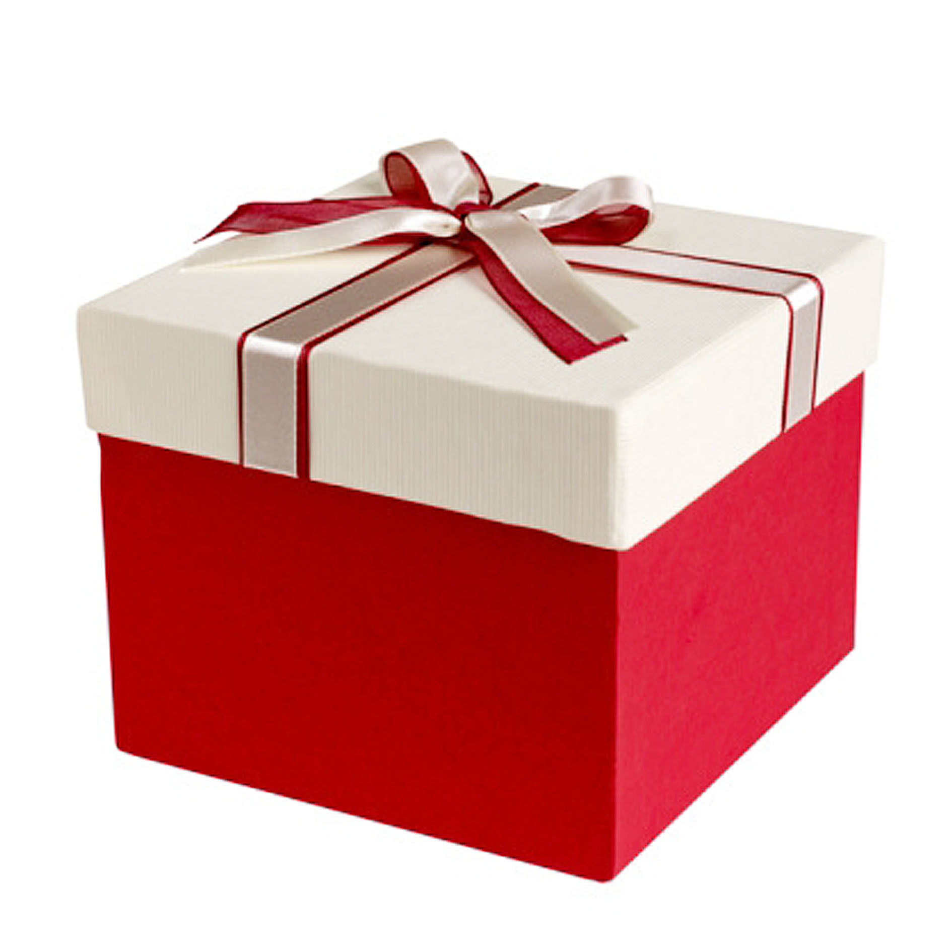Free box. Wrapping paper or gift bag costs about $4. $4 per item, which includes gift wrap, a bow, and a personalized message. Kohl's. Boxes available free during the holidays.