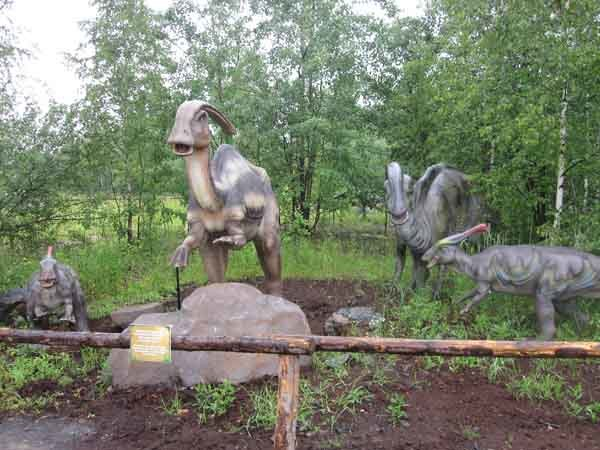 China Animatronic Dinosaur in the Park