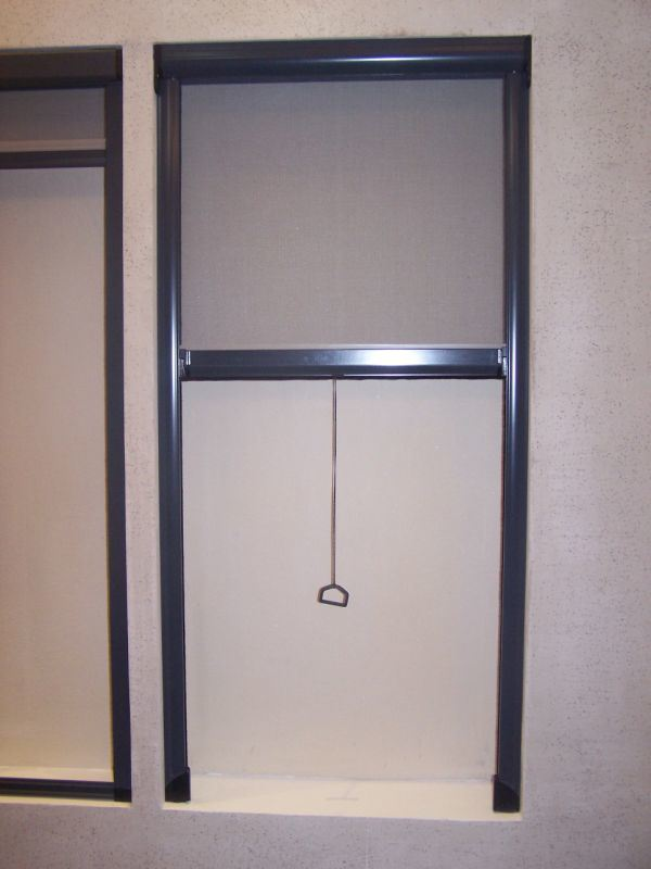 Retractable door screens china fly screen insect screen for Retractable insect screen door