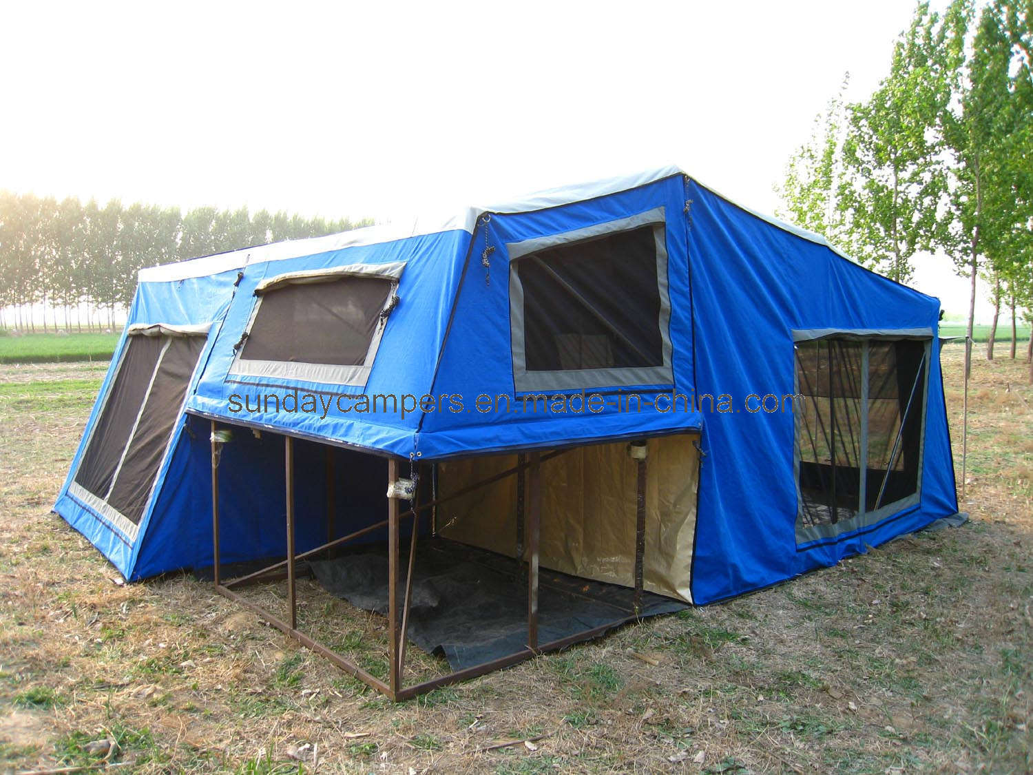 China 7x4 Off Road Camping Trailer Tent Sc01 Photos
