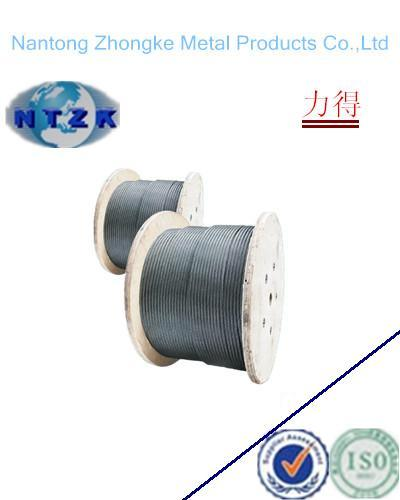 6*26+Iwrc Ungalvanzied and Galvanized Steel Wire Rope, Chinese Rope