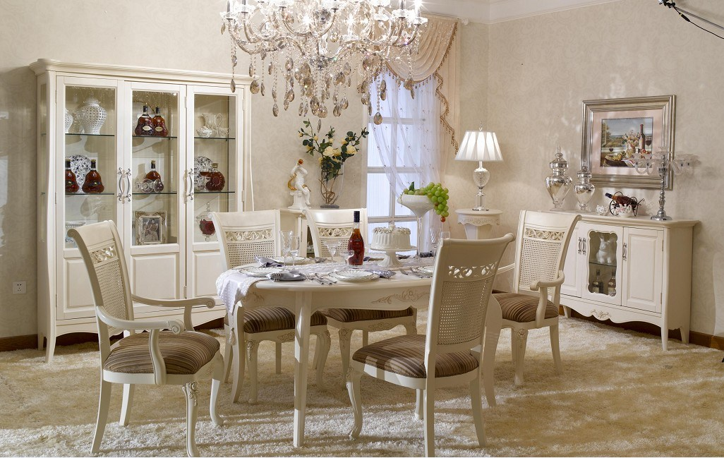 China french style dining room set furniture bjh 301 for French dining room