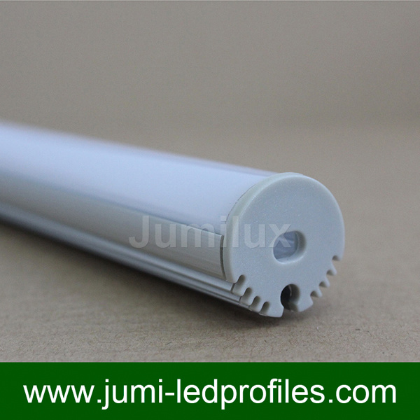 Round LED Aluminum Profile for LED Strips