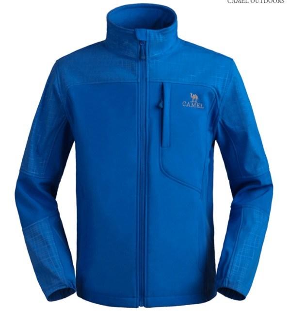 Men Casual Waterproof Softhell Jacket