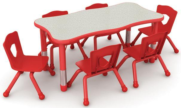 China Children School Table and Chairs China Children