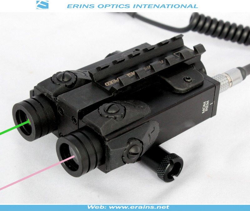 New Military Grade Dual Green Laser Sight and IR Laser Scope Combo (ES-FX-4GIR-ML)