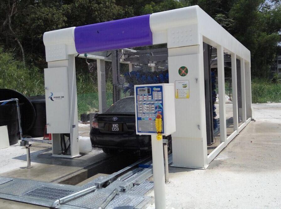 Automatic Quick Car Washing Machine for Kuala Lumpur Carwash Business