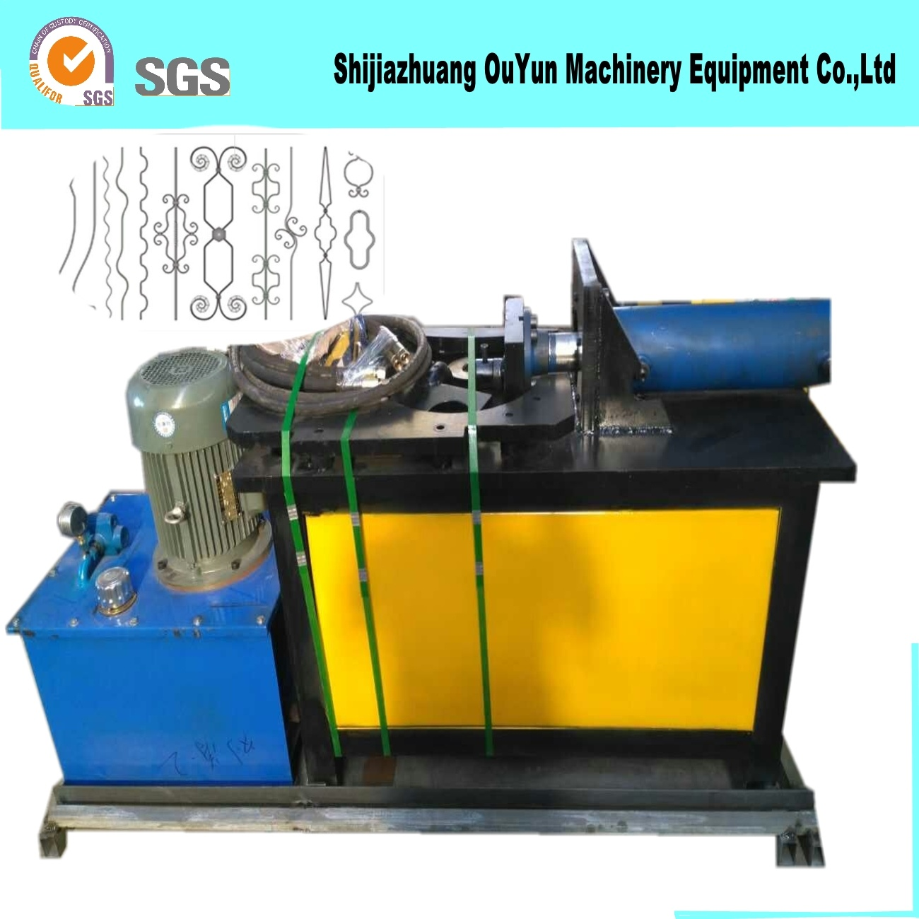 Hydraulic Press Machine/Wrought Iron Moulding Machine for Decorative