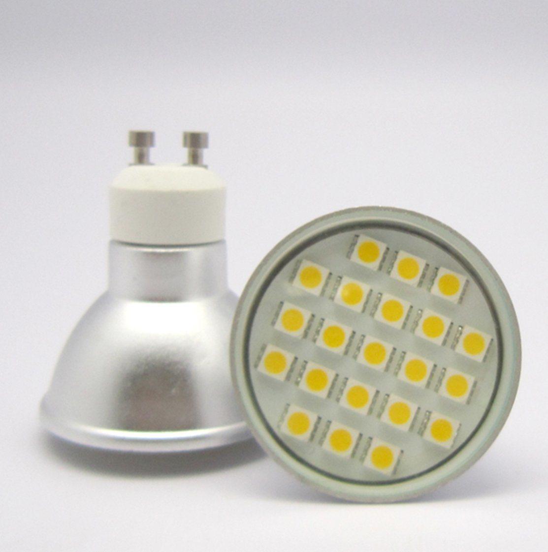 5050 21PCS 3W GU10 AC85-265V/12V LED Spotlight