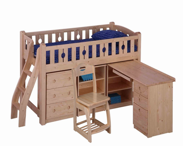 ... Bed (FV-B-COMBINATION-002) - China Loft Bunk Bed Desk, Loft Bed